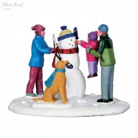 """HER FIRST SNOWMAN"""""""