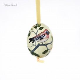 Huevo de pascua pintado a mano