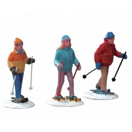 SNOWSHOE WALKERS SET 3