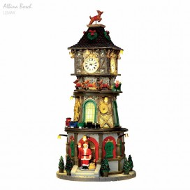 LEMAX X-MAS CLOCK TOWER