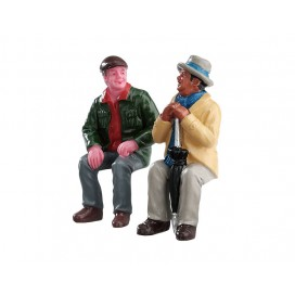 CHATING WITH OLD FRIENDS SET OF 2