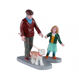 AFTERNOON STROLL, SET OF 2