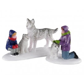 FUTURE SLED DOGS SET OF 2