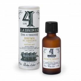 """Bruma de ambiente higienizante para brumizadores """"Los 4 Ladrones"""" (50 ml)"""