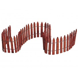 WIRED WOODEN FENCE