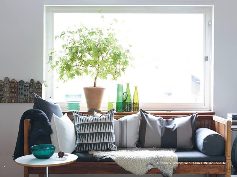 Cojines Linum. Textil para el hogar