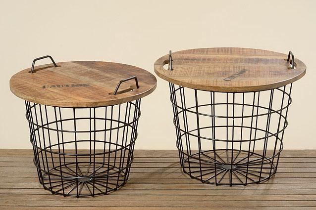 Venta de ba les mesa y cestos fabricados en teka y hierro for Decoracion para pared en hierro