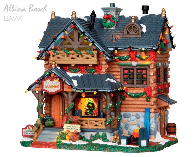 Casas de navidad Lemax Albina Bosch