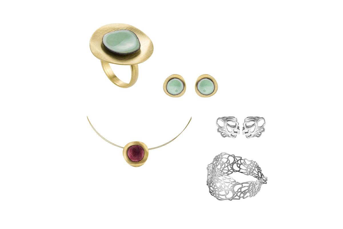 Joyas y piezas en plata y dorado de Joi d'Art