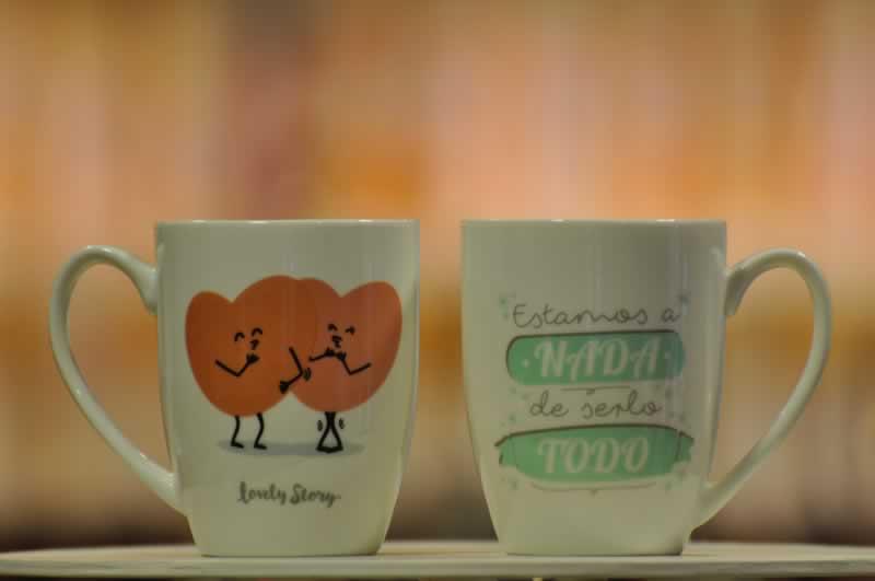 Tazas con mensajes originales lovely story regalos y - Regalos decoracion hogar ...