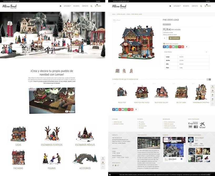 Tienda online Lemax de Albina Bosch
